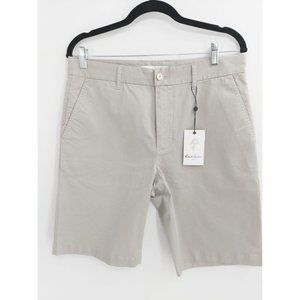 Robert Graham Men's Khaki ALDRICH Woven Shorts NEW